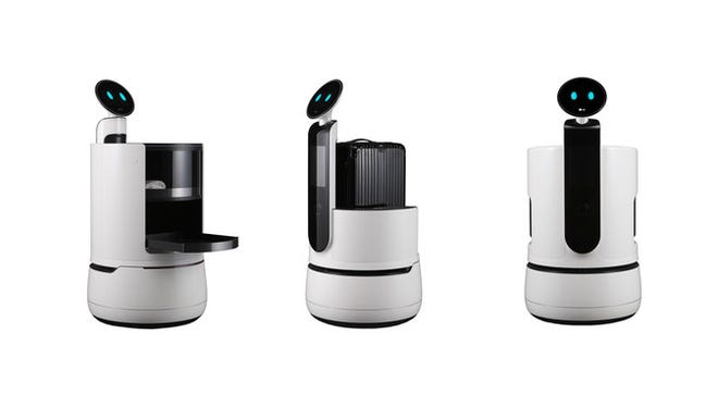 Following the introduction of its commercial robots in 2017, LG Electronics continues to push the envelope with the unveiling of three new work robots at CES 2018.