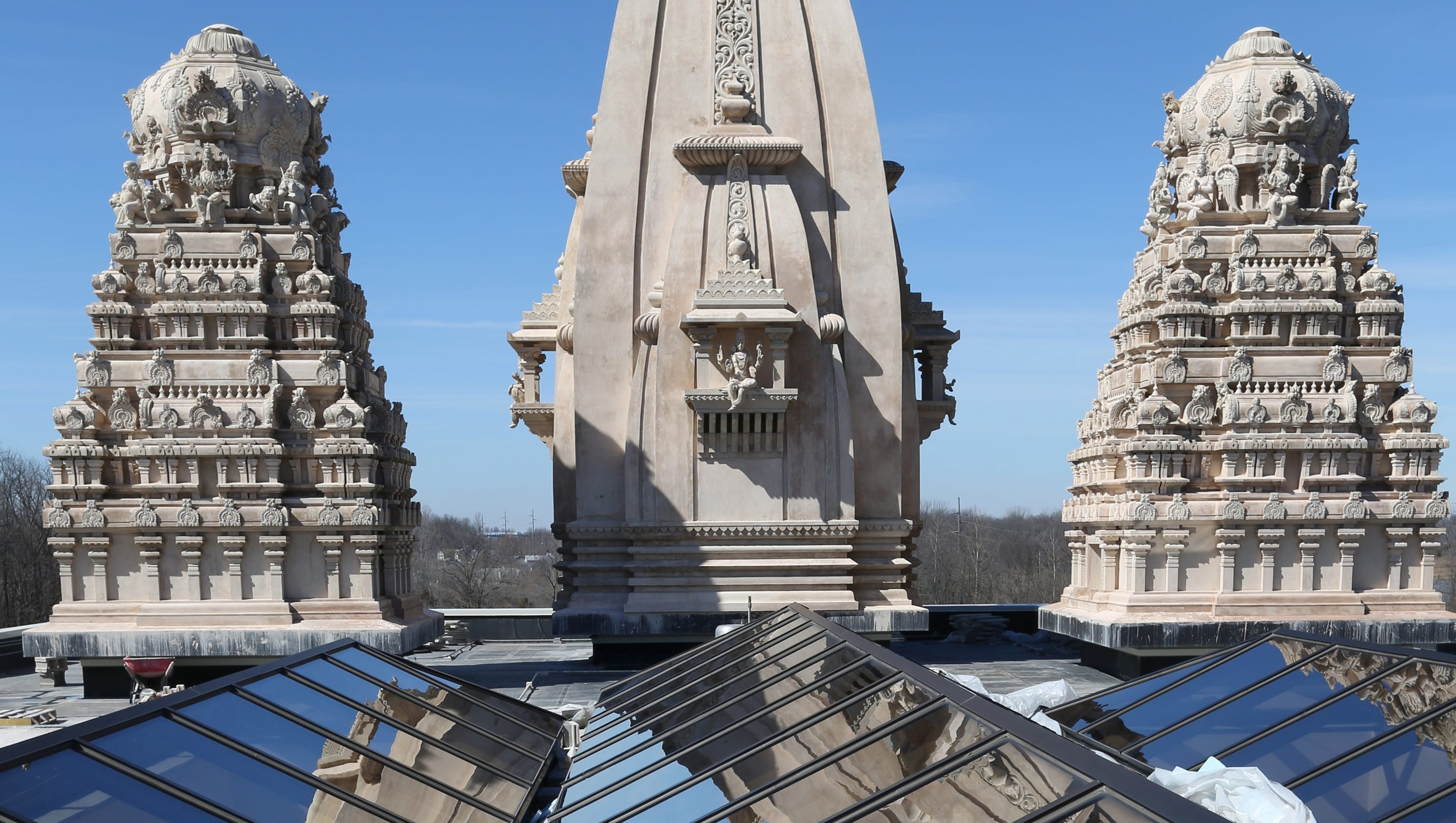 preview of new hindu temple of central indiana