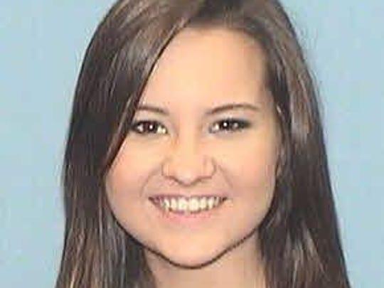 Eleanor Chandler, sophomore business administration