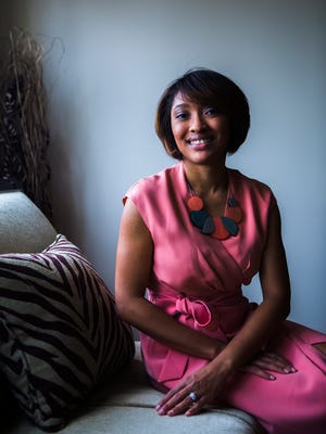 """February 8, 2017 - Erica Coopwood, 40, is president-elect of the Memphis Junior League. She will assume her 2-year presidency on June 1, 2018. """"I just think that anytime that you can keep your vision in front of you, who you are and who you want to become, you'll have more of a possibility of making that happen,"""" Coopwood said."""