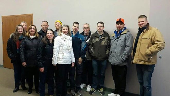 A volunteer group from the Rehoboth United Reformed Church was denied entry into the U.S. on Saturday. They were headed to New Jersey to help families still recovering from Superstorm Sandy.