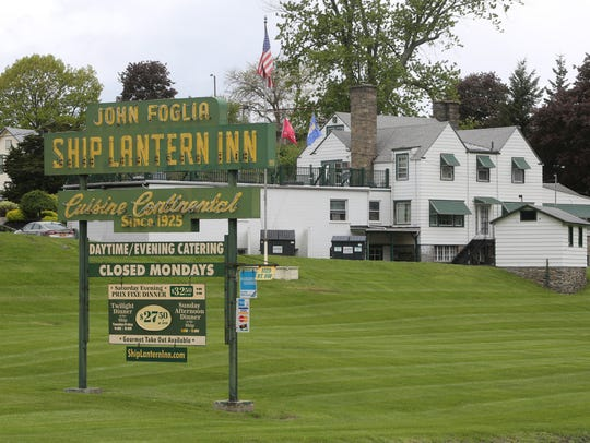 The Ship Lantern Inn on Route 9W in Milton, May 7,