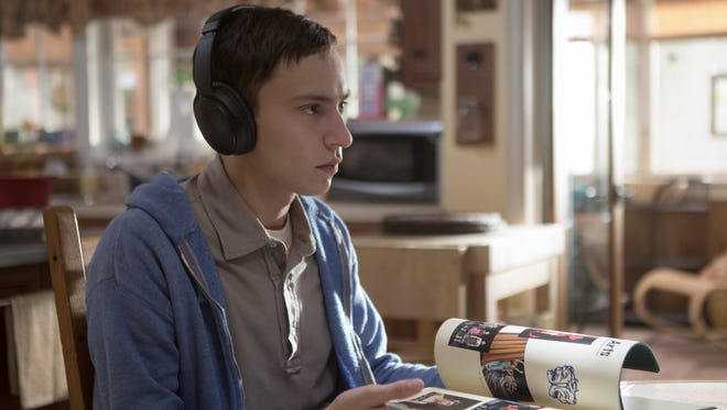 Keir Gilchrist plays Sam, a teen who has autism, in 'Atypical.'
