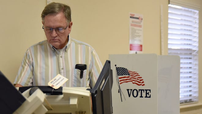 Polls are open from 7 a.m. to 7 p.m. for Tuesday's general election.