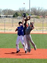 Monday's Albuquerque Baseball Academy Camp works on