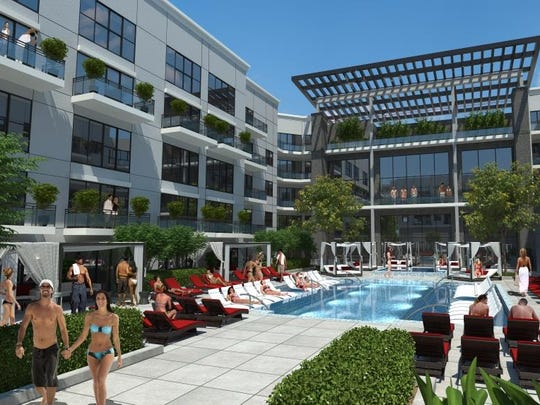 Plans are in the works for a new four-story, 300-unit apartment building at the Centre of Tallahassee. Modern designs are planned for the apartments, which will range from studio to three-bedroom apartments. Tallahassee apartments will mirror a project currently underway in Atlanta.