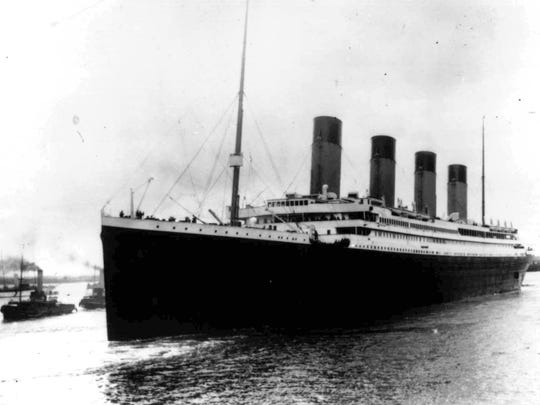 Today in History, April 15: The Titanic sank on its maiden voyage
