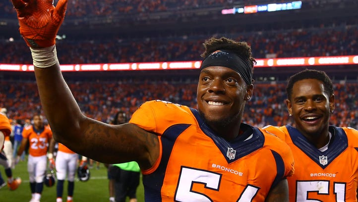 Broncos' Brandon Marshall shares racist letter he received