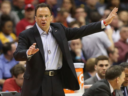 Former Indiana Hoosiers head coach Tom Crean