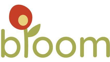 A logo for Bloom, an indoor play center opening this spring at the Park Ridge Shopping Center.