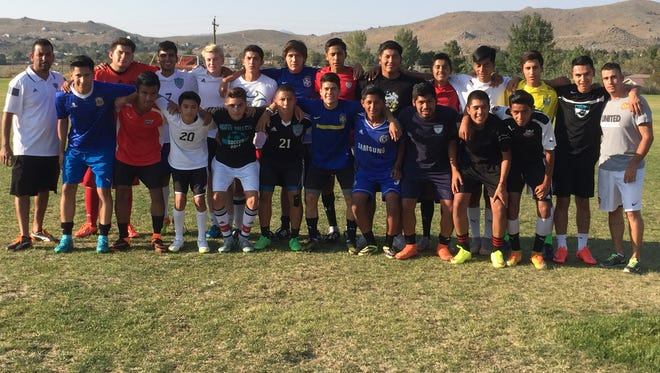 The North Valleys boys soccer tyeam is the defending champion in the Northern Division I.