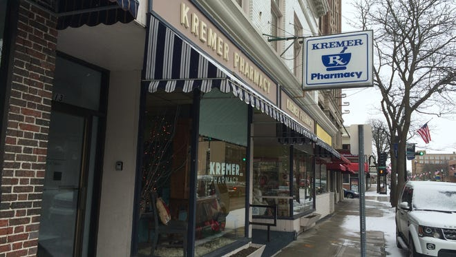 Kremer Pharmacy, 9 N. Main St., has operated in Fond du Lac for more than 100 years.
