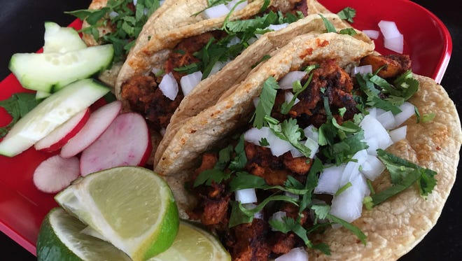 Like tacos? Try vegan varieties when Three Carrots vegan food stand takes over the La Margraita food truck 6 to 9 p.m. Aug. 1 at La Margarita in Fountain Square.