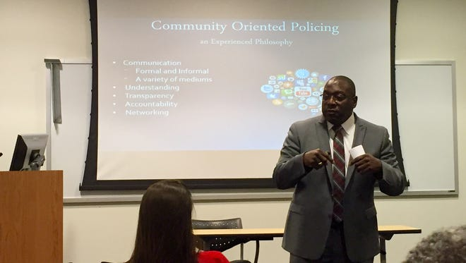 Former CPD officer Anthony Carter is a finalist for the position as UC police chief.