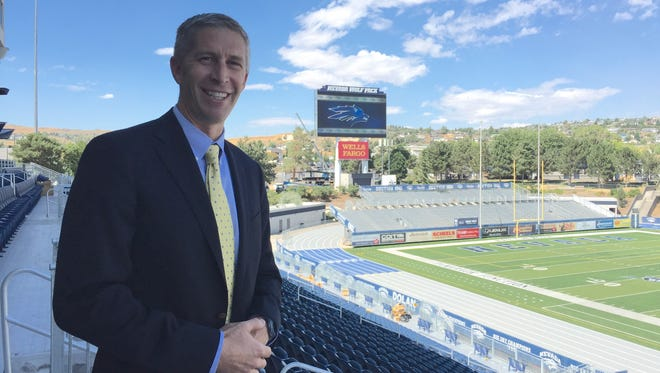 Wolf Pack athletic director Doug Knuth will search for Nevada's next head football coach.