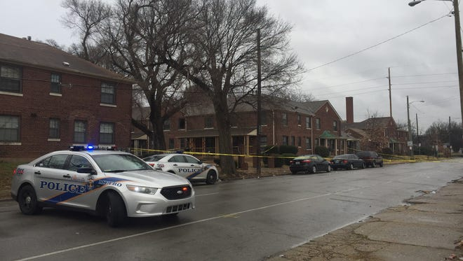 Two people were shot in the College Court area in the Limerick neighborhood on Saturday.