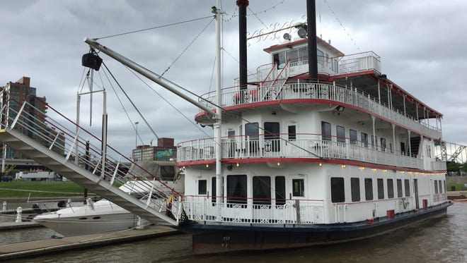 The Mary M. Miller is joining the Belle of Louisville down on the river.