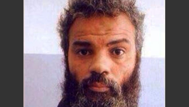 This undated file image obtained from Facebook shows Ahmed Abu Khattalah.