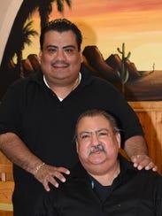 Ariel Cordova Jr., top, pictured with his dad Ariel