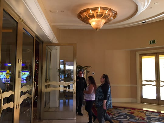 The south entrance to the Spa resort Casino in Palm Springs has been renovated, making it the main entrance.