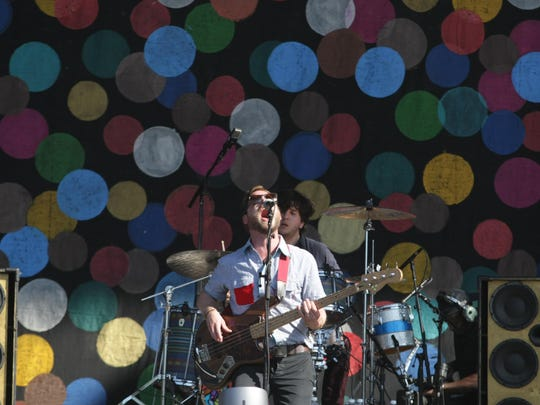 Dr. Dog performs at the Firefly Music Festival in Dover in 2013.