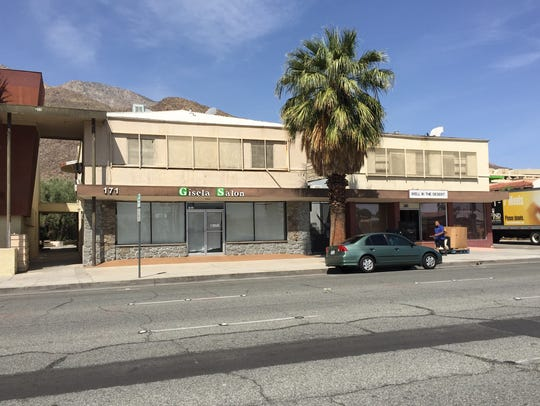 The building at 171 N. Indian Canyon Drive is part