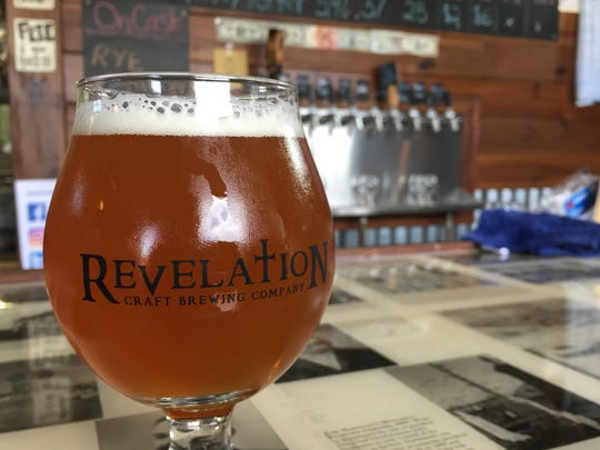 Revelation Brewing Company, located near Rehoboth Beach, offers a Mother-In-Law IPA (6.3% ABV).