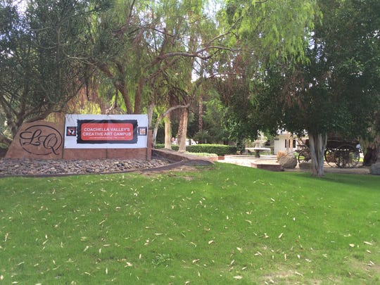 Some of the grounds surrounding the Coachella Valley's Creative Art Campus, at 78-045 Calle Cadiz in La Quinta, will be set aside for plein air artists to work.