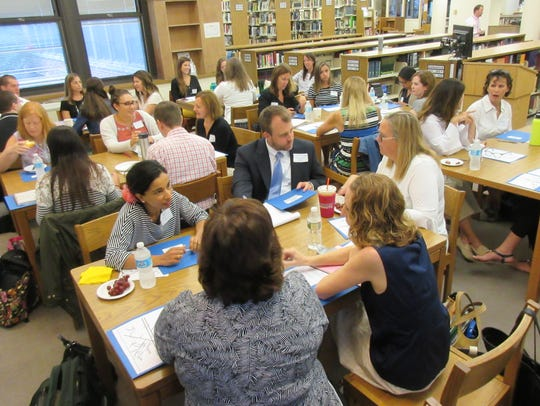 New teachers and administrators in the Westfield Public