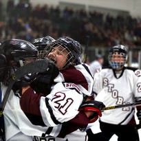 Storm returns to defend state title in girls hockey