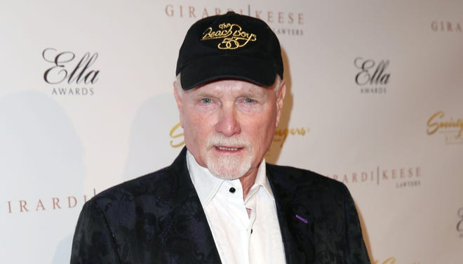 Mike Love arrives at The Society of Singers' 21st ELLA Awards on Feb. 20 in Beverly Hills.