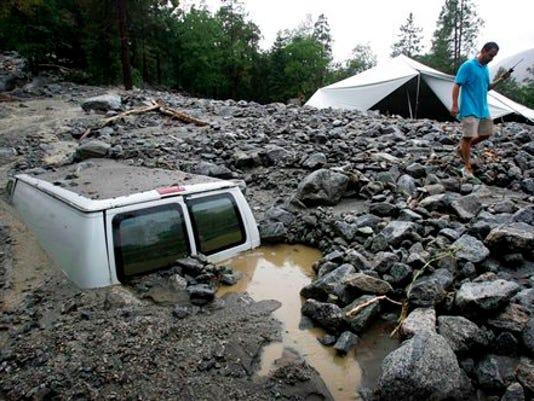 mudslides in Cali