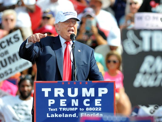 USP NEWS: DONALD TRUMP RALLY A ENL FL