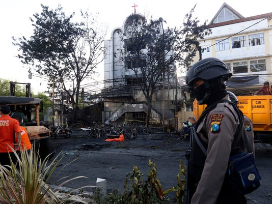 AP INDONESIA CHURCH ATTACKS I IDN