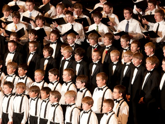 The St. John's Boys Choir performs its 30th Anniversary Concert in the Abbey Church on June 5, 2011.