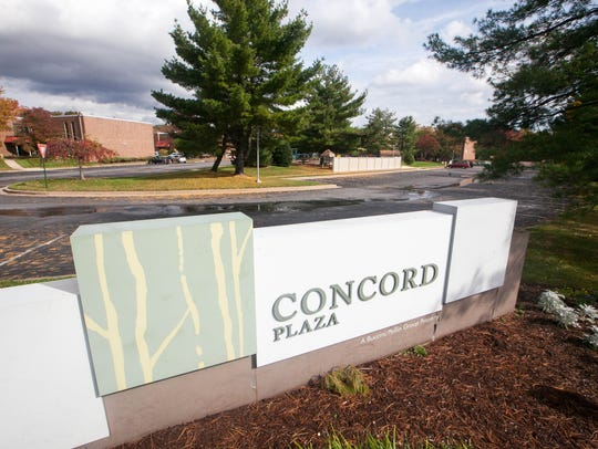 Redevelopment of Concord Plaza, a large office complex