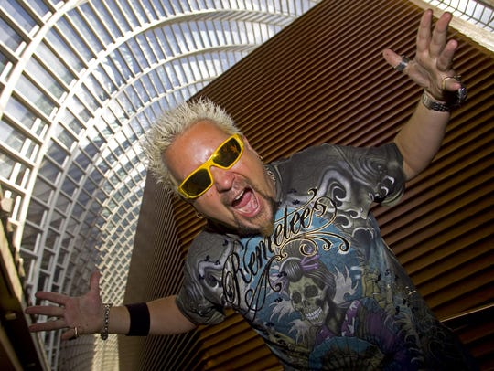 Guy Fieri is the star of several Food Network shows,