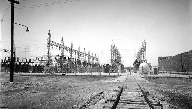The K-732 switchyard was built in 1944 to help power Manhattan Project-era uranium enrichment facilities at the old Oak Ridge Gaseous Diffusion Plant.