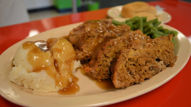 Vicky Davis has been making her meatloaf for over 20 years and it's on the Wednesday menu at Grill 2855.
