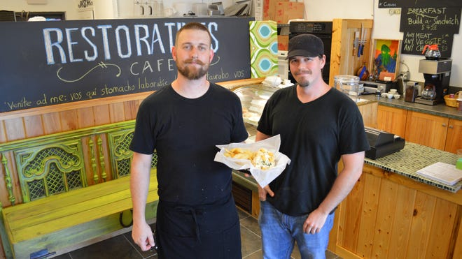 Jay and Tim Gillmore are brothers and co-owners at Restoratives Cafe.