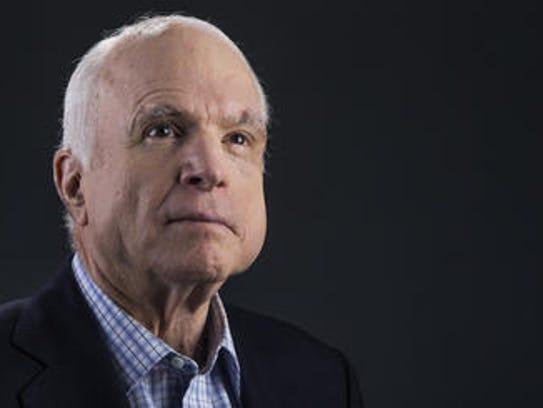 Arizona Sen. John McCain.