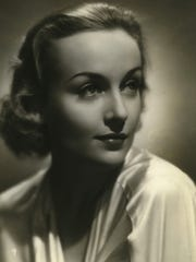Actress Carole Lombard, shown in a 1936 publicity still,