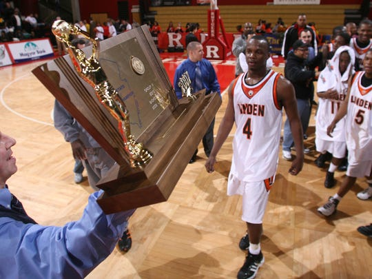 Phil Colicchio holds Linden's Group IV championship