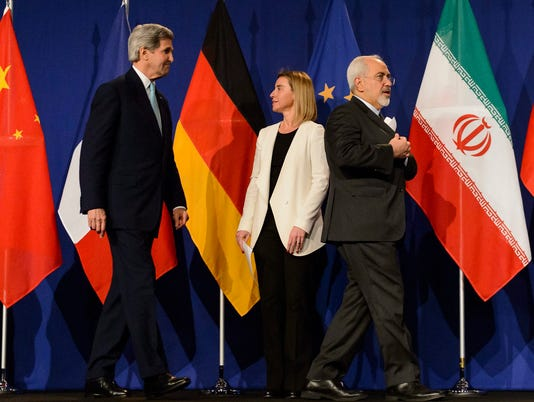 EPA SWITZERLAND IRAN NUCLEAR TALKS POL DIPLOMACY NUCLEAR POLICIES SWI