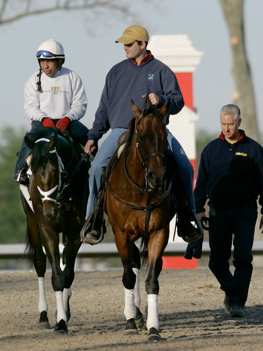 Scat Daddy, Angel Cordero Jr., Todd Pletcher, Tristan Barry