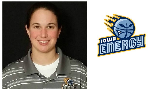 Nicki Gross has been named an assistant coach by the NBA Development League's Iowa Energy, and she's the only female to currently be an assistant in the league.