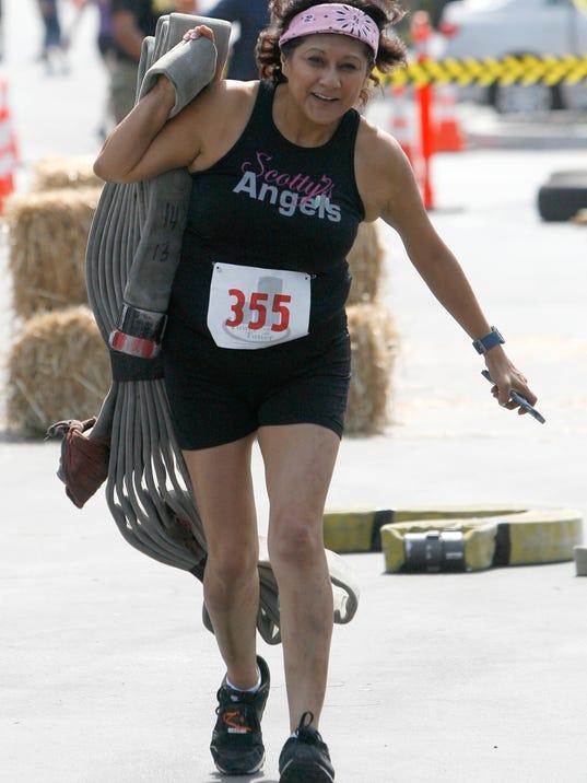 Runners Power Through Tower Climbs In Oxnard