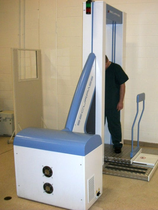 Macomb County Jail to get full-body scanner for inmates