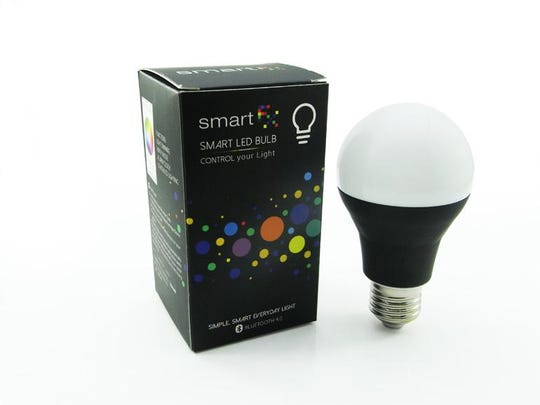 "Bring back ""mood lighting"" with the SMFX Smart Bulb."