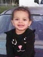 Missing 2-year-old Arriella Medina.